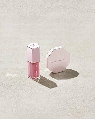 41MMmAoSZNL A limited-edition set of mini Fenty Beauty favorites: Diamond Bomb + Gloss Bomb team up for show-stopping radiance on the fly.