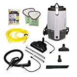 ProTeam ProVac FS 6 Vacuums, 6 Quart Backpack, Gray