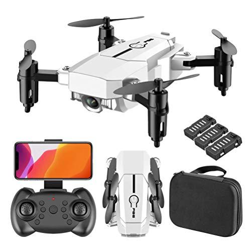 DCLINA Drone RC con Video Live 4K, quadricottero RC Pieghevole, grandangolo 110 , Supporto Esperienza VR 3D, Scatto con stabilizzazione Anti-Vibrazione con