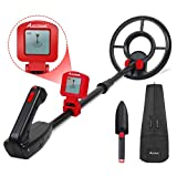Avid Power Metal Detector for Kids Treasure Hunting Juniors Metal Detectors with Adjustable Stem, LCD Display and Carrying Bag