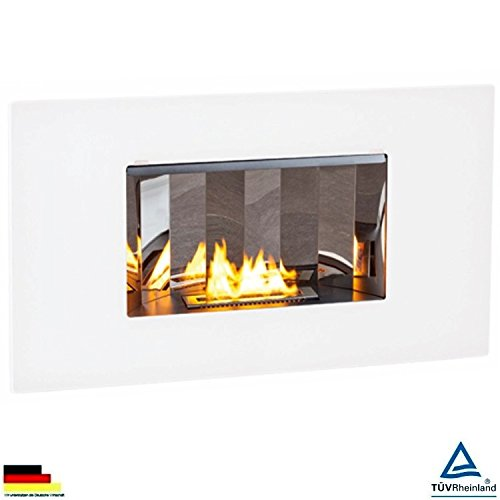 Ethanol Fireplace Electric Fully Automatic Fuel Supply Valencia TÜV-Certified