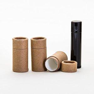 OZ Kraft Paperboard Lip Balm, Kraft Paperboard Lip Balm