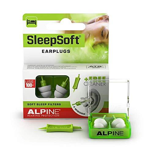 Alpine SleepSoft Bouchons d'oreille Protection Auditive pour Dormir - Anti...
