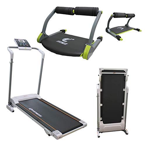 FFitness Attrezzatura Multifunzione Home Gym Equipment Body Bulding Tapis Roulant Easy-Folding...