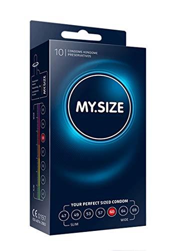 My.Size Kondome Größe 5, 60mm, Standardpackung (10 Stück)