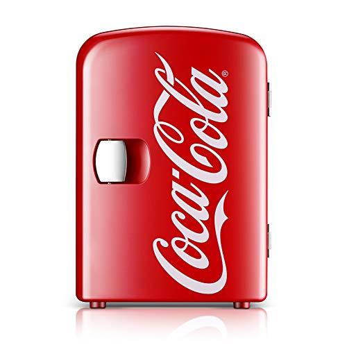 YICHEN Minifrigo, Frigorifero da Banco, Frigorifero per Auto Coca-Cola, Scatola di Riscaldamento E...