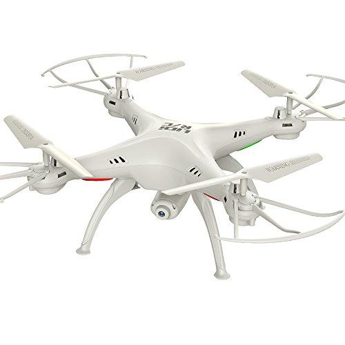 LiDi RC L15HW (SYMA aggiornamento X5SW) 2.4GHz 6-Axis Gyro Wifi FPV con fotocamera 0.3MP HD modalit RC Quadcopter Drone alta stiva con 2 motori in pi molto facile da volare per i principianti