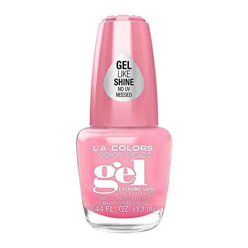 L.A Colors Color Craze Extreme Shine Gel Like Nail Polish (Gossip CNL221)