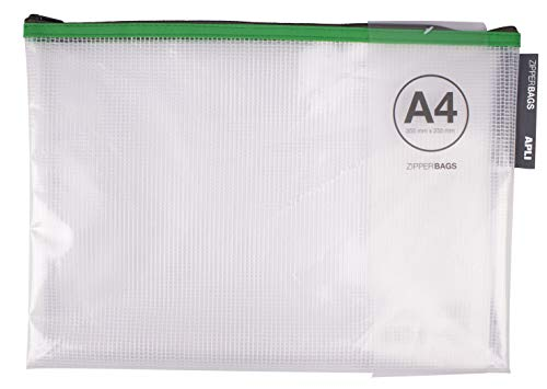 APLI 17385 - Bolsa Zipper Bag A4