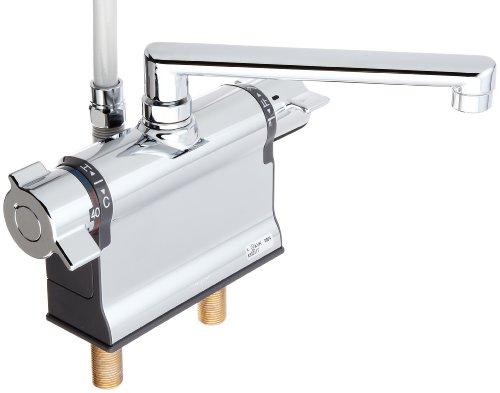 KVK デッキ形サーモスタット式シャワー混合水栓 KF3011T
