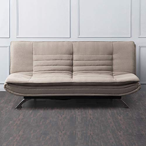 Home Centre Faith Fabric Sofabed Brown