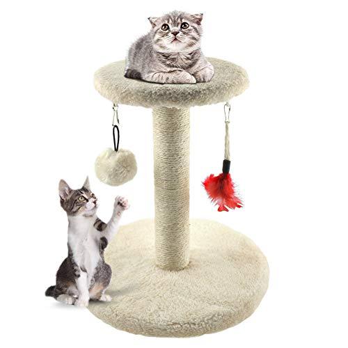 Zubita Rascadores para Gatos, Árbol para Gatos Arañazo Gatos...