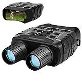 Aurho Night Vision Binoculars, 720P HD Digital Infrared Hunting Binocular 300 Yards IR Camera with Video Recorder with 2.31' TFT LCD Photos Videos Playback for Wildlife