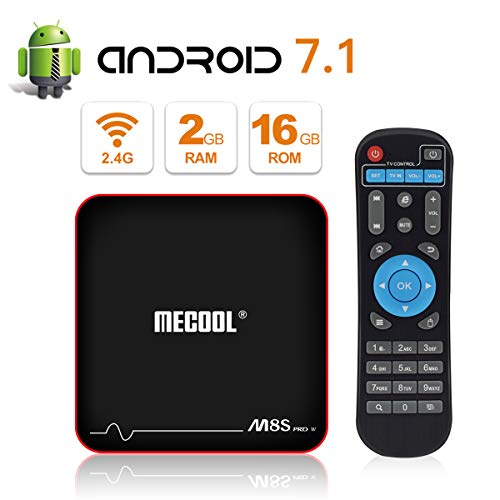 MECOOL M8S PRO W Android 7.1.2 TV Box with 2GB RAM 16GB
