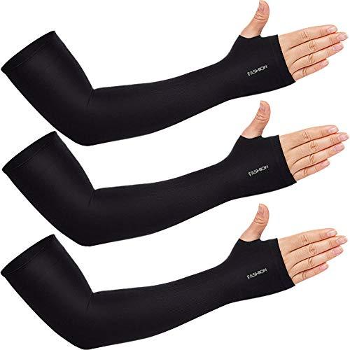 Beister 3/6 Paia Unisex Protezione UV Raffreddamento Braccio Manicotti per Sport Ciclismo Golf -...