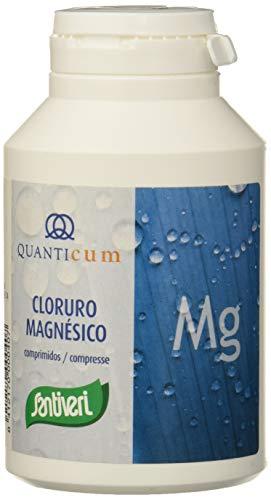 Quanticum Cloruro magnésico de Santiveri: Bote de 230 comprimidos (100 mg de magnesio por comprimido)