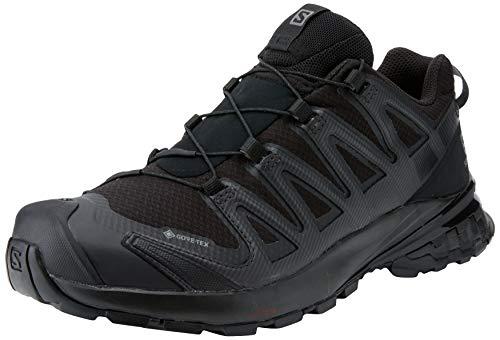 Salomon XA Pro 3D V8 W, Zapatillas De Trail Running Y Sanderismo Impermeables Versión Màs Ligera Mujer, Negro (Black/Black/Phantom), 40 EU