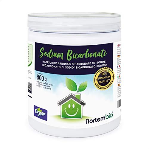 Nortembio Bicarbonato de Sodio 800g, Insumo Ecológico de Or