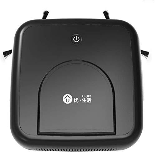 SWTR1 Quadrato nero Robot Aspirapolvere, intelligente Spazzare Robotic macchina, super-sottile, di...