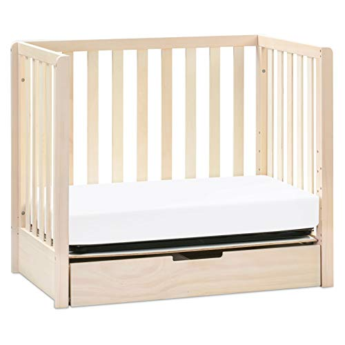 Product Image 4: Carter's by DaVinci Colby 4-in-1 Convertible Mini Crib with Trundle in Washed Natural, Greenguard Gold Certified