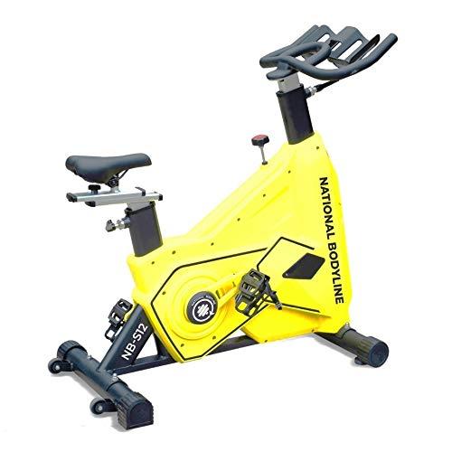 National Bodyline Alloy Steel Spin Bike, Yellow