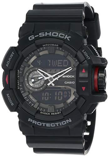 Casio Herren G Shock Rund Serie Analog-Digital Sportart Quartz Reloj (Modelo de Asia) GA-400-1B