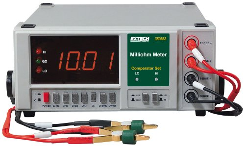 Extech 380562 220VAC Milliohm Meter
