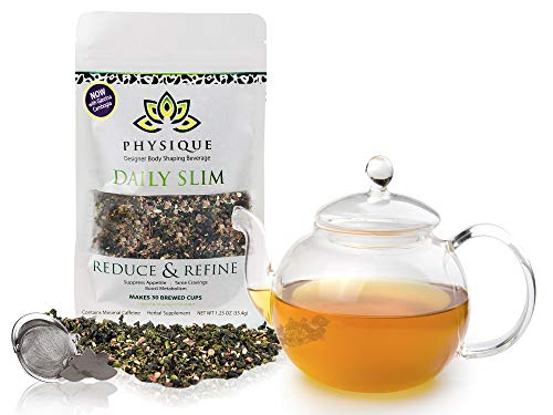 Herbal Tea Weight Loss Cleanse: Daily Slim Detox Tea for Natural Weight Loss - Slimming Diet Aid Tea with Appetite Suppressant - Metabolism Booster and Fat Burning Supplement -Over 150 Servings - 8 oz 7