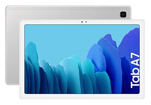 SAMSUNG Galaxy Tab A 7   Tablet de 10.4\' (WiFi, Procesador Octa-Core Qualcomm Snapdragon 662, 3GB de RAM, 64GB de Almacenamiento, Android actualizable) Color Silver [Versión española]
