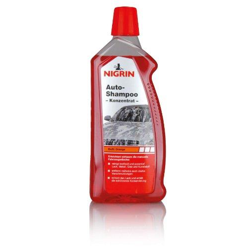 NIGRIN Autoshampoo Konzentrat, 1 Liter, entfernt auch starke...