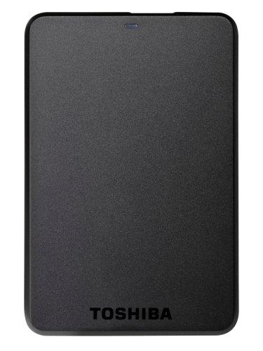 Toshiba Store Basics (HDTB110EK3BA) - Disco Duro Externo de 1 TB (USB 3.0, 2.5'), Negro