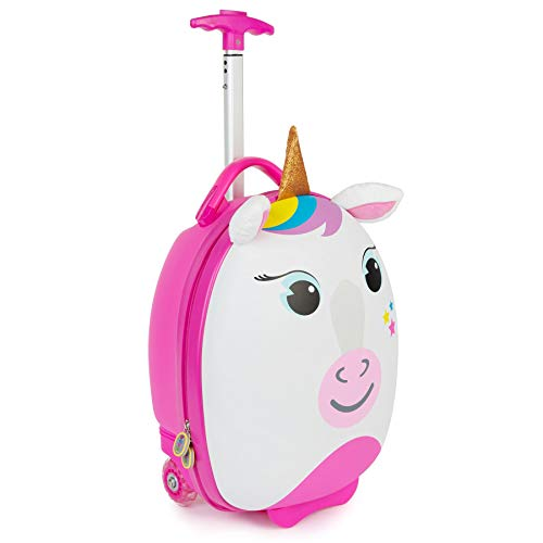boppi Tiny Trekker trolley per bambini bagaglio a mano trolley con maniglia trolley leggero con...