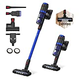 Vistefly Vacuum Cleaner,24Kpa VXB Cordless Vacuum Cleaner,3 in 1 Handheld Stick Vacuum Cleaner with Battery Rechargeable and HEPA Filtration,Up to 50 Mins Working Time Cleaning