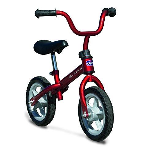 Chicco - Prima Bicicletta, Rosso, 2-5 anni, portata massima 25 kg, 17161