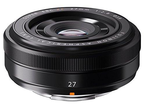FUJIFILM 単焦点広角レンズ XF27mmF2.8 B ブラック