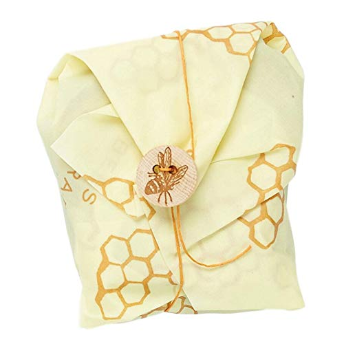 Bee's Wrap Eco Friendly Reusable Sandwich Wrap With Tie