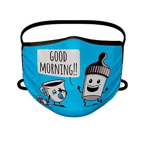 Missborderlike - Mascarilla Adulto - Good Morning!