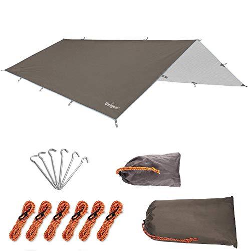 Unigear Bâche Anti-Pluie, Tarp Rain Fly Toile de Tente Imperméable Abri...