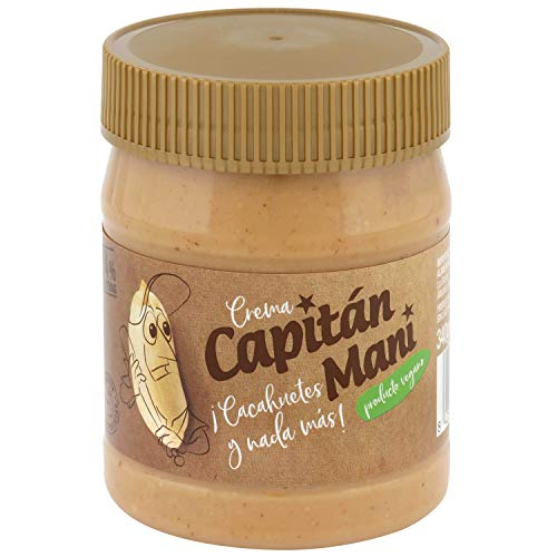 Crema de cacahuete Capitán Maní. 100% cacahuetes tostados
