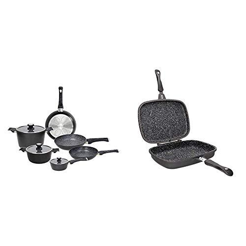 Tognana Sphera Set di pentole, Alluminio & Sphera Fornetto, Alluminio