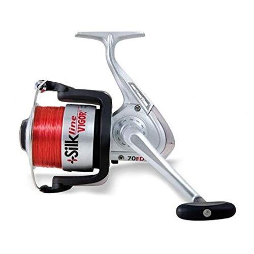 Lineaeffe Mulinello da Pesca Imbobinato Vigor Silk Line 7000 con Frizione Anteriore Precisa e Potente da Spinning Bolognese Feeder Fondo Mare Trota Lago Leggero e Affidabile
