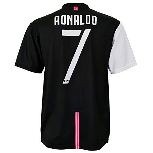 CR7 MUSEU Maglia Cristiano Ronaldo 7 Replica Ufficiale Autorizzata 2019-2020 Bambino (Taglie-Anni 2 4 6 8 10 12) Adulto (S M L XL) con Firma Stampata - Leggere Note (8/9 Anni)