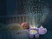 Descriptif produit: Veilleuse toute douce avec projection d'étoiles lumineuses et variations de couleur pour apaiser Bébé et l'aider à s'endormir. Se déclenche automatiquement quand Bébé pleure ou grâce à la minuterie réglable. 7 histoires, 12 sons d...