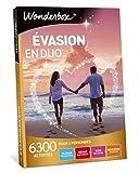 Wonderbox - Coffret cadeau - EVASION EN DUO - 6300 séjours romantiques,...