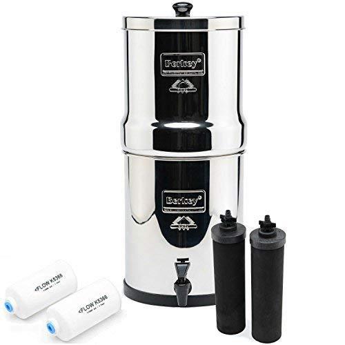 Big Berkey BK4X2 Countertop Water Filter...