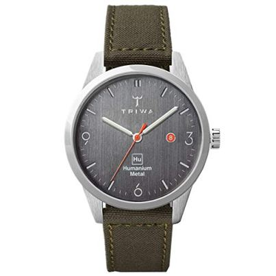 TRIWA HU39D Men's Minimalist Casual Watch – Analog Wrist Watches for Men, 39mm