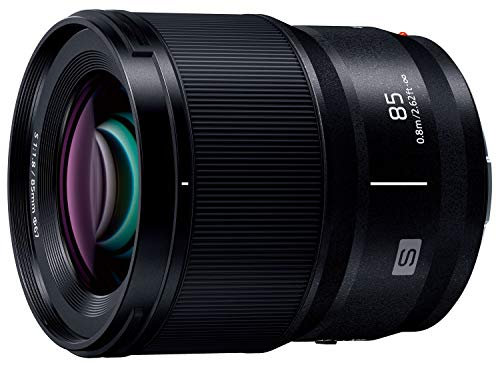 パナソニック 中望遠単焦点レンズ フルサイズミラーレス一眼 Lマウントシステム用 ルミックス LUMIX S 85mm F1.8 ブラック S-S85