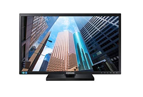 Samsung Monitor S22E450M Monitor Professionale 24' Full HD, 1920 x 1080, 60 Hz, 5 ms, D-Sub, DVI, con Casse Integrate, Regolabile in Altezza, Swivel, Pivot, Nero
