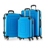 Happy Trolley Lugano Juego de maletas 231 Azul