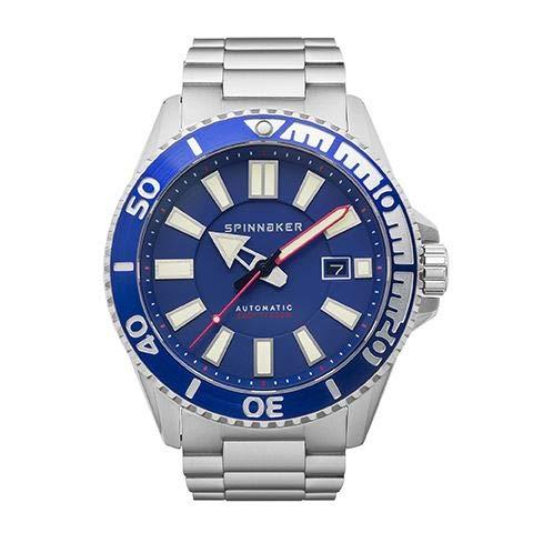 Spinnaker Herren Automatik Armbanduhr mit Edelstahlband - Amalfi SP-5074-22